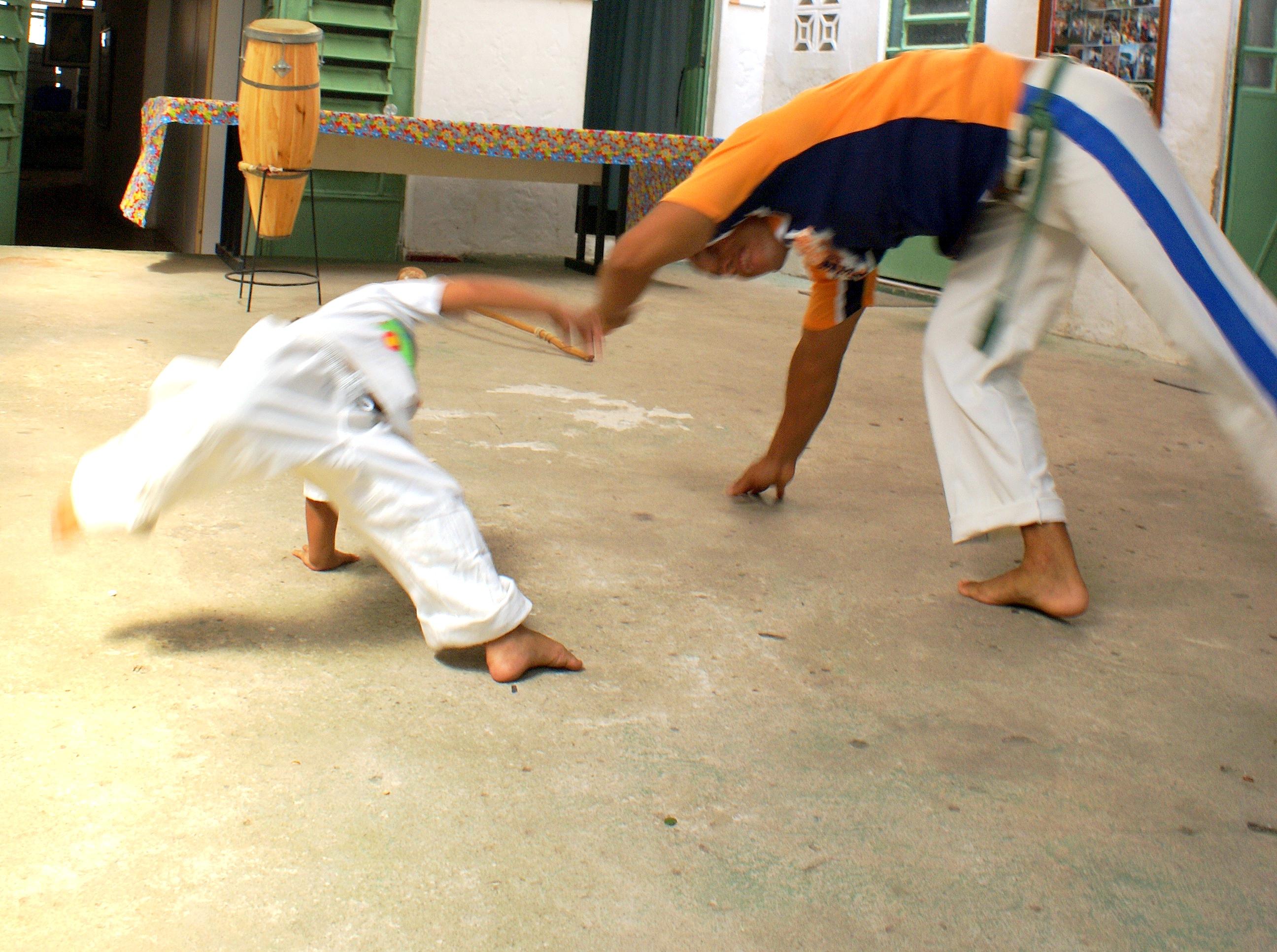Projeto Na ginga da capoeira 2009 - CRVV